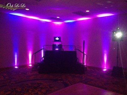 Hilton Hotel Uplighting