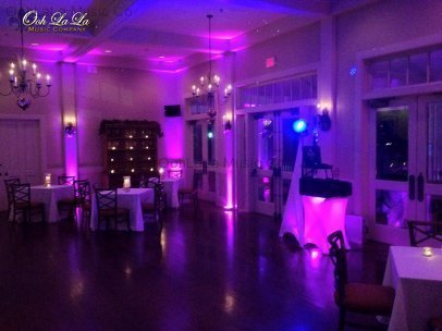 Audubon Club House Uplighting