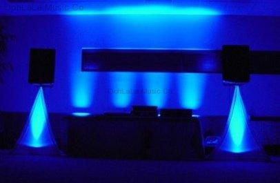 DJ Area Uplighting