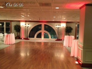 The Riverview Room Uplighting