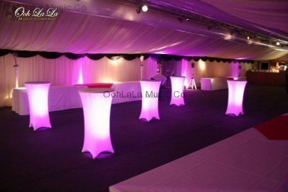 Uplighting under Tables