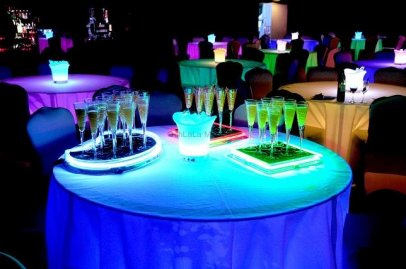 Table Uplighting